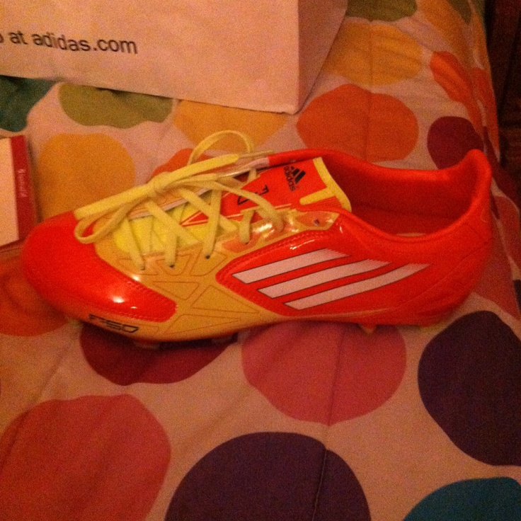 Messi has these shoes