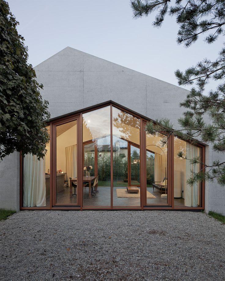 Confignon House / LOCALARCHITECTURE / Dom Confignon – nowoczesna STODOŁA   wnętrza & DESIGN   projekty DOMÓW   dom STODOŁA