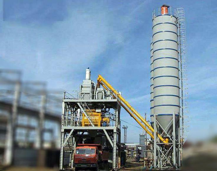 ready mix concrete batching plant price