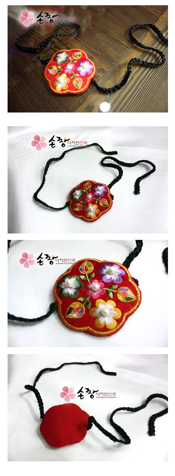 Korean traditional girl and women head piece accessory