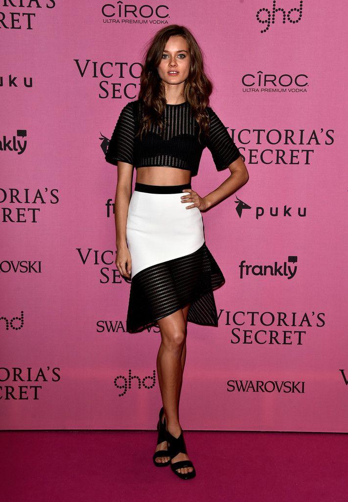 Arrivals at the Victoria's Secret Fashion Show Afterparty - Jac Jagaciak