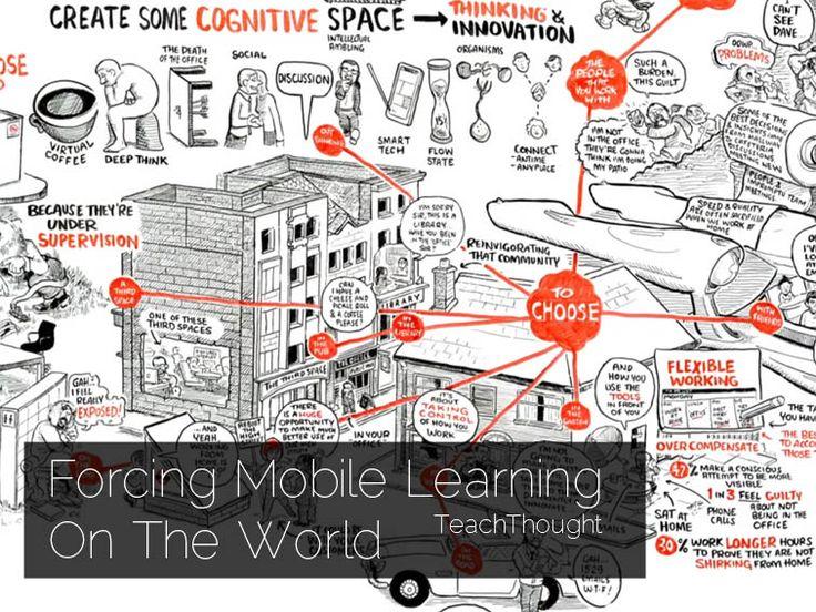 мобильное обучение может решить проблему творческих пространств