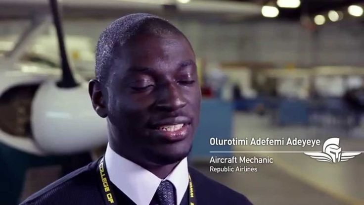 Femi Oddeyo shares his experience at Spartan College. Femi graduated with a Bachelor of Science in Aviation Management. Watch Femi's testimonial