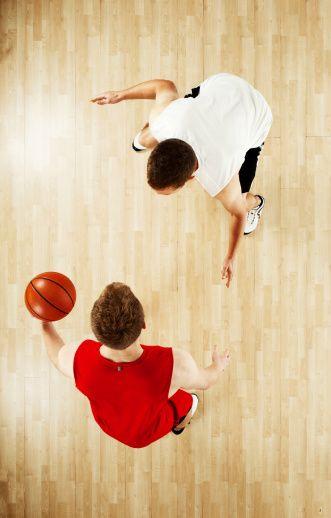 バスケットボール選手に対応