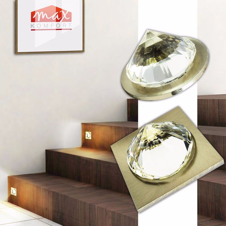 LED Treppenbeleuchtung Einbaustrahler Trepenlicht Treppenhaus Leuchte Lampe