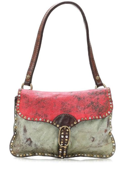 AN ABSOLUTELY GORGEOUS BAG!! - HOW LOVELY AND SO DIFFERENT - THIS BAG WOULD GO WITH SO MANY ITEMS IN ONES' WARDROBE!!