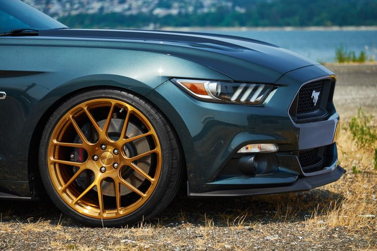 H&R's new Mustang GT Premium Fastback is equipped with the