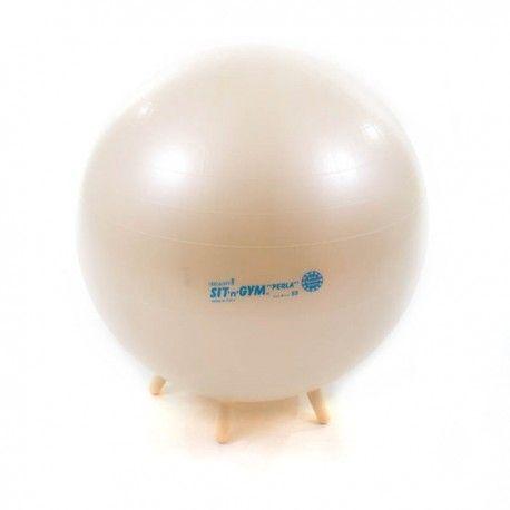 Piłka do siedzenia, która powoduje prostowanie kręgosłupa i wzmocnienie mięśni pleców. Zabawki sensoryczne - akcesoria sensoryczne - integracja sensoryczna