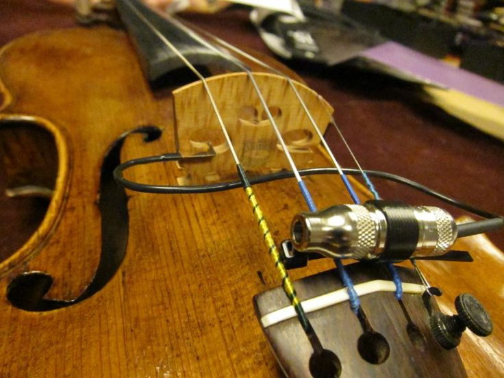 17 Best Images About Violin Pickups Mics Transducers