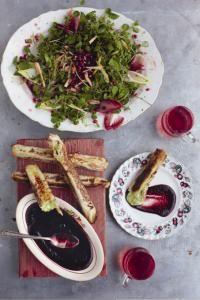 Jamie Oliver's Camembert Parcels | camembert, walnuts, chives lemon filo