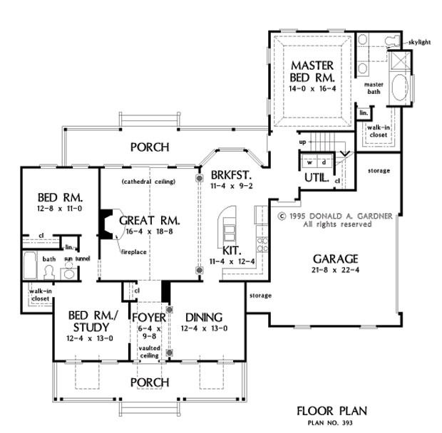 19 best don gardner house plans images on pinterest for Trinity house plans