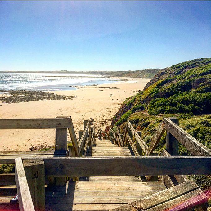 Surf Beach - Phillip Island - Australia