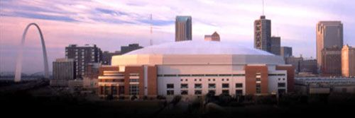 Edward Jones Dome -  St. Louis, Missouri. Home of the St. Louis Rams