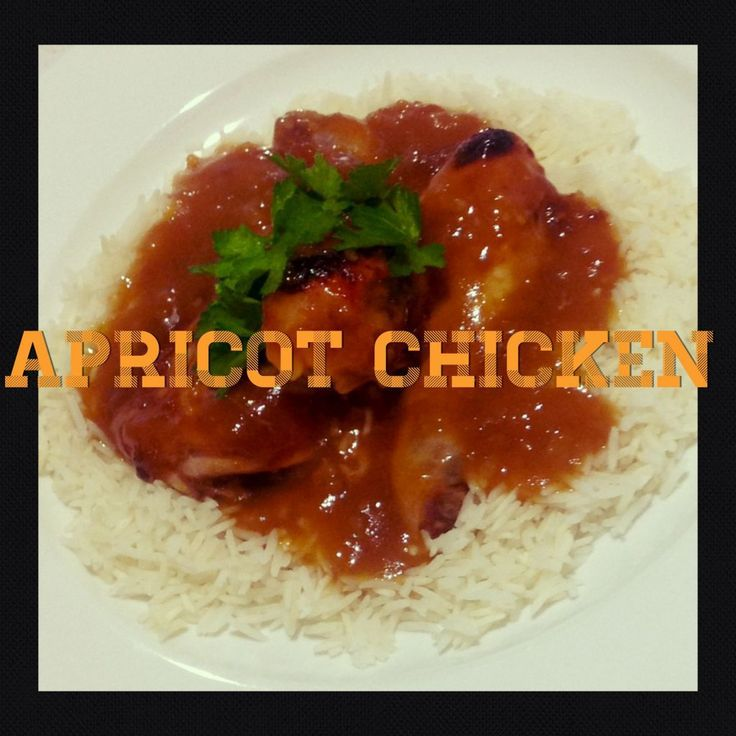 Apricot Chicken (Thermomix Method Included)