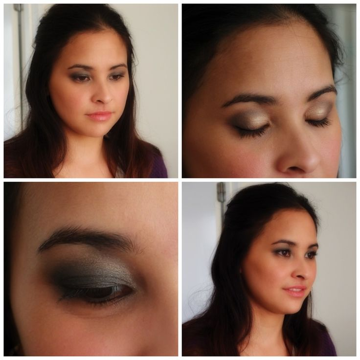 A smokey eye using Curtis Collection make up range, here my client requested a  grey smokey eyes!