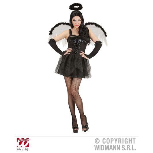 Zwarte Engel - Dames - Kostuums - De Feestwinkel