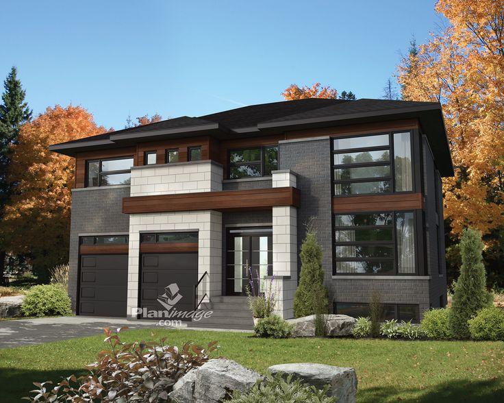 Cette majestueuse maison à étage se distingue par la richesse de ses matériaux, sa fenestration abondante et son architecture contemporaine.