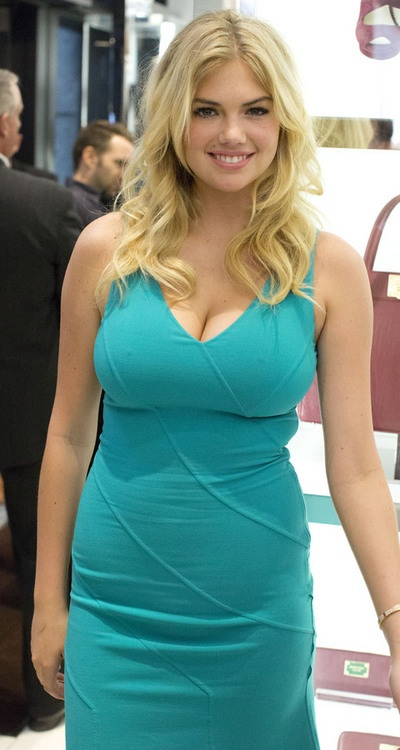 Kate Upton in blue!