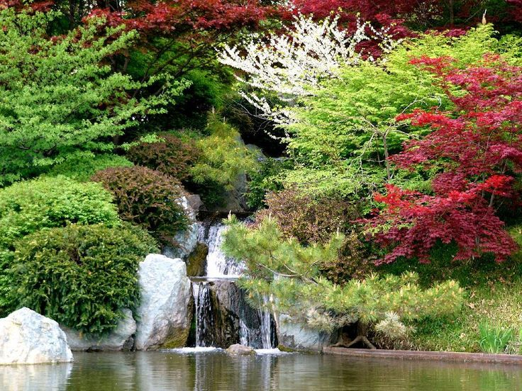 bellos jardines japoneses bellos jardines pinterest
