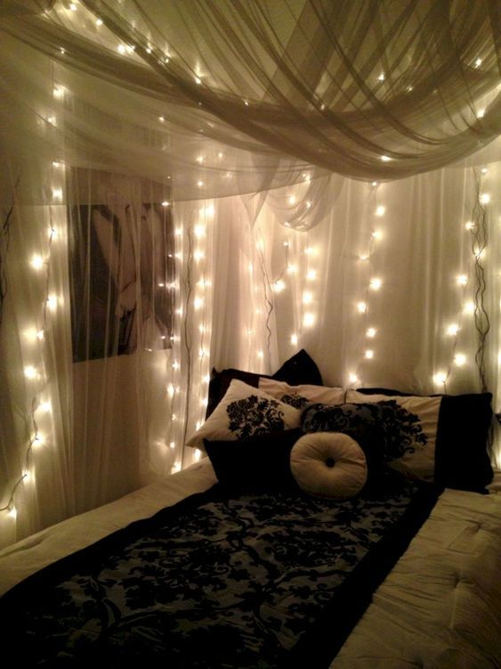 63 Beautiful Bedroom Decorating Ideas In 2020 Led Lighting Bedroom Bedroom Decor Dream Rooms