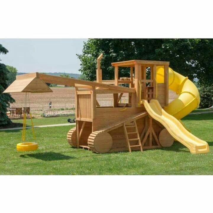 Tractor playset