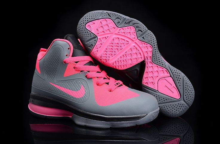 New All Pink Lebrons 2013 | LeBron 9 Grey/Pink [Kids Nike LeBron 9] - $82.30 : New Jordans 2013 ...