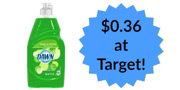 Target: Dawn Dish Soap Only $0.36!