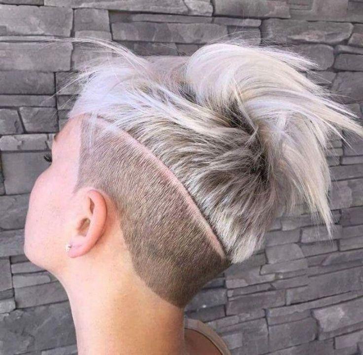 edgy pixie cut