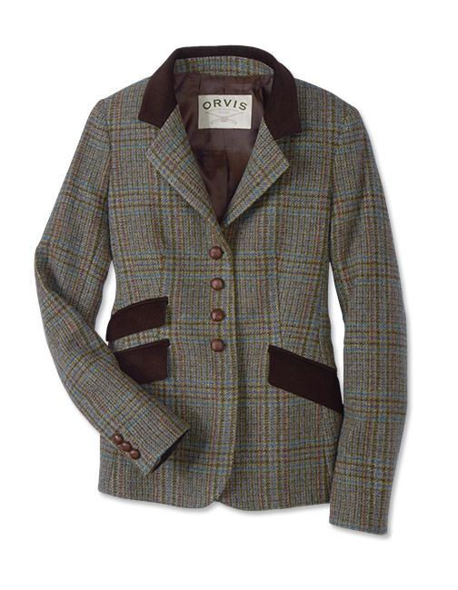 Just found this Plaid Wool Tweed Blazer For Women - Irish Tweed Glen Plaid Blazer -- Orvis on Orvis.com!