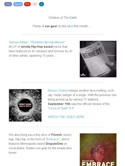 Check out this 'Federation' newsletter
