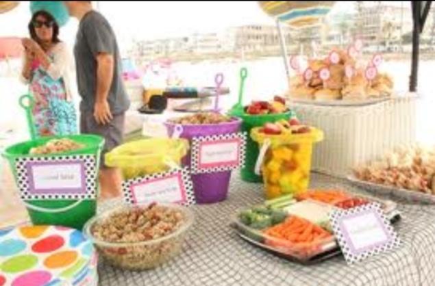 beach party menu physic minimalistics co