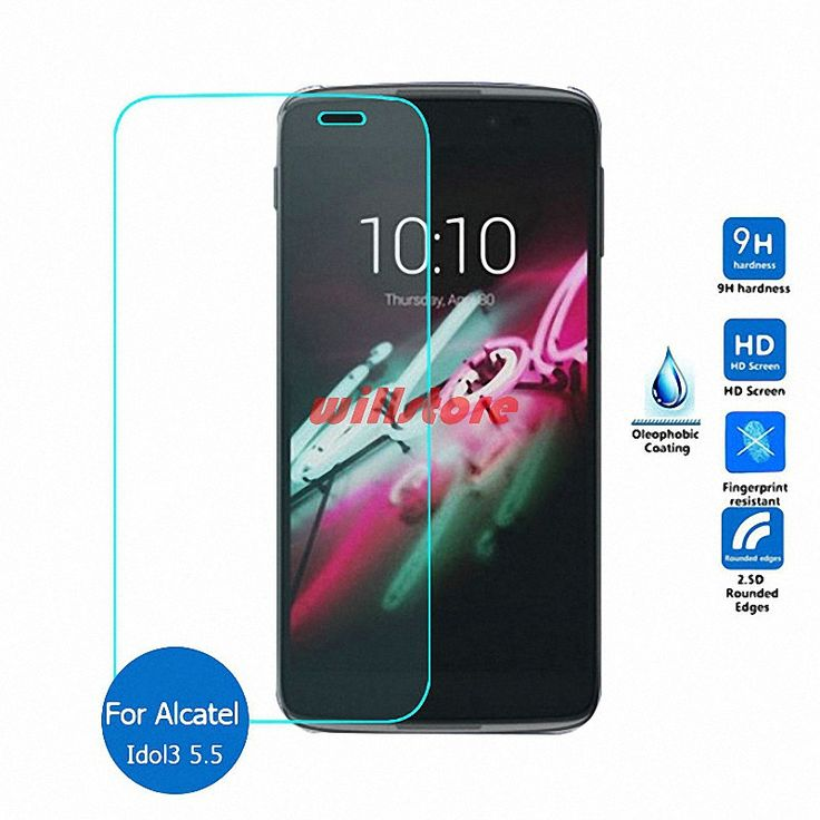 for Alcatel Idol 3 5.5-inch Tempered Glass Screen Protector Guard Film for Alcatel One Touch Idol 3 5.5 6045 6045Y 6045K 5.5'' #Affiliate