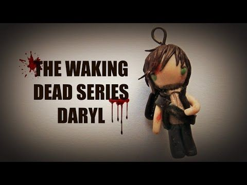 The Walking Dead Series - Daryl - Polymer Clay Tutorial - YouTube