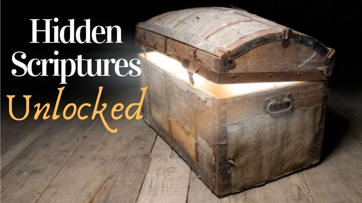 Books hidden from the bible now unlocked and revealed