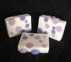 """""""Bubbles"""" inside the design make soap all the more fun!"""