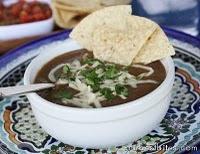 black bean soup: Stew, Bit, Fun Recipe, Black Beans Soups, Dinners, Black Bean Soup, Healthy, Mr. Beans, Soups Recipe