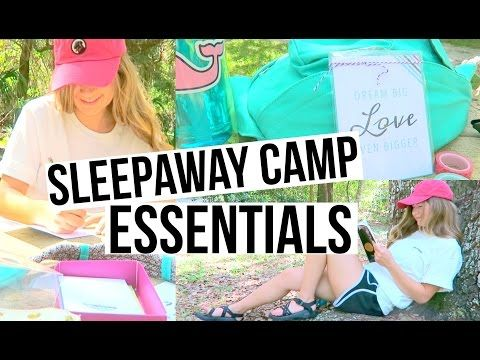 Sleepaway Camp Essentials - Outfits, Accessories, Random Stuff! - YouTube