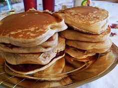 Ma Cuisine Végétalienne: Pancakes (Vegan)