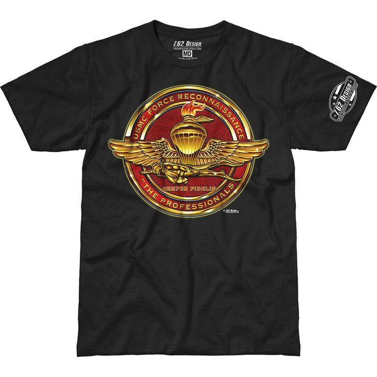 $27.95 USMC Recon 'The Professionals' 7.62 Design Premium Men's T-Shirt