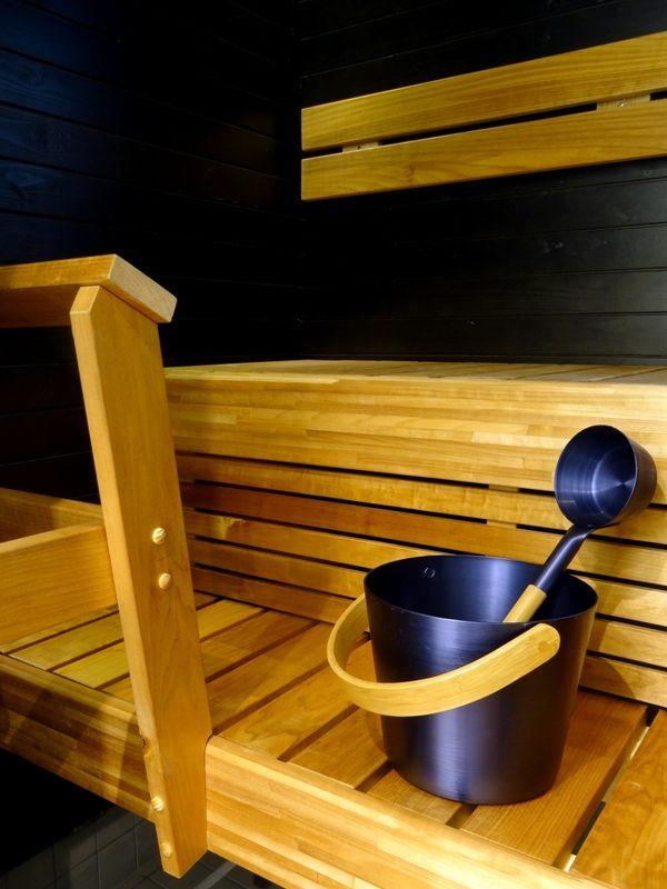 Lovely Finnish sauna, studio Mustikka (Blueberry)