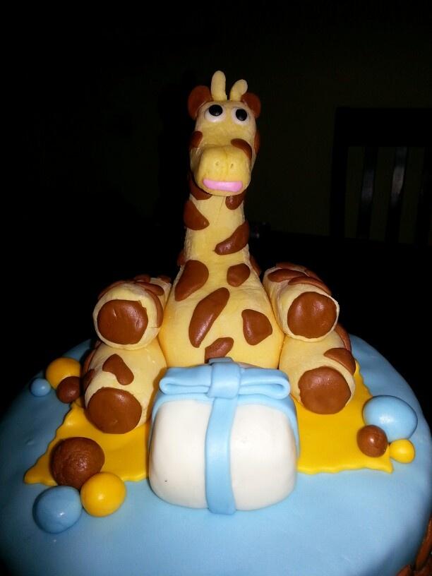 Sugar Sweet Crumbs...Giraffe Cake close up