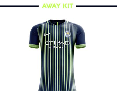 Manchester City Football Kit 18 19. Camisas De Futebol 0759fff1d56b5