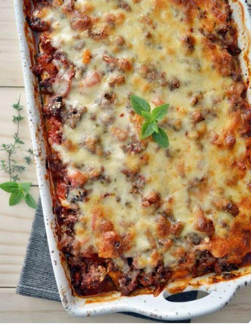 Loquenomemata: Lasaña vegetariana - Vegetarian lasagna