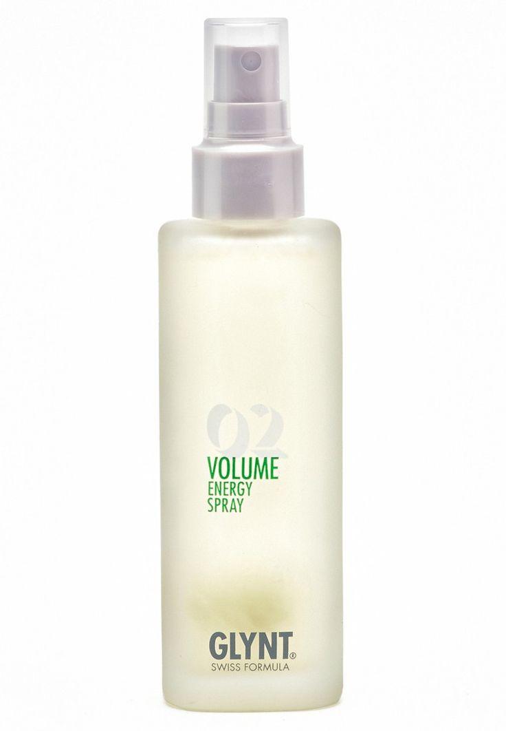 Glynt Volume - Energy Spray - 100ml - Das Glynt Volume Energy Spray ist ein Leave-In Conditioner, der feinem, lichtem oder kraftlosem Haar Volumen verleiht und es intensiv, aber nicht beschwerend, pflegt. Ergebnis: Das Spray wirkt mit einer thermoaktiven Formel, die jedes Haar mit Seidenproteinen und flüssigem Keratin umhüllt. Dadurch wird dem Haar neue Kraft und neues Volumen verliehen. Das Haar wird von innen heraus aufgebaut, für eine neue Fülle und unbeschwerten ...