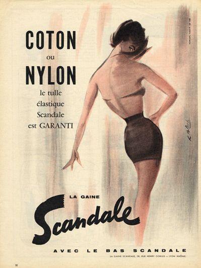 Image result for 1958 lingerie