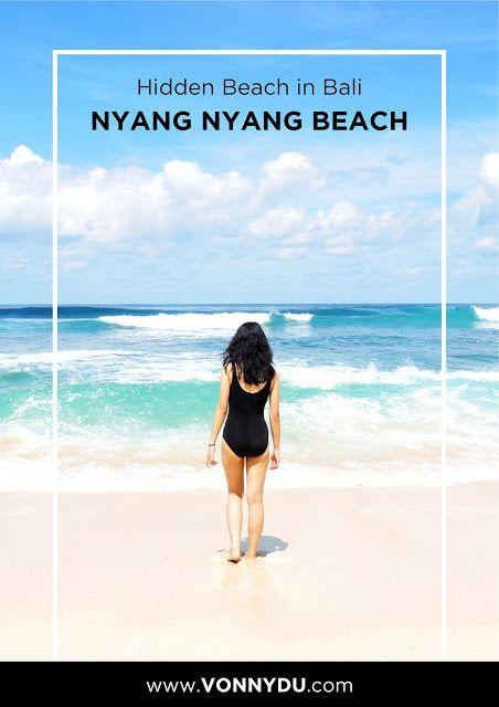 HIDDEN BEACH IN BALI : NYANG NYANG BEACH #beach #bali #travel #travelblog