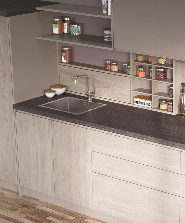 Egger Kitchen Worktop F293 St82 Tivoli Anthracite A