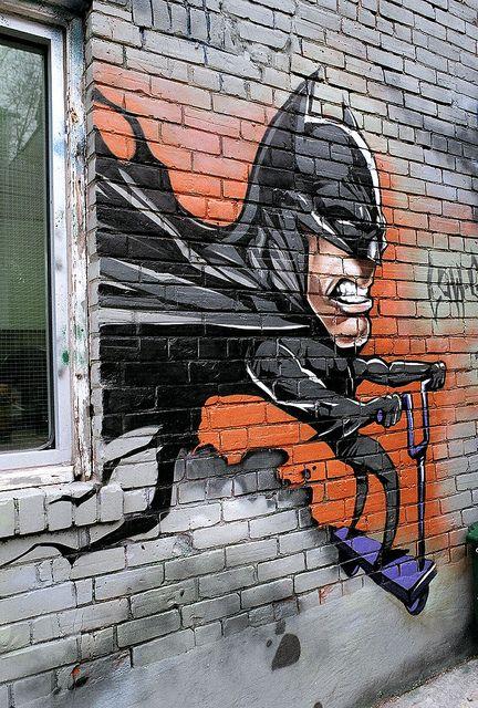 The Not So Dark Knight, Toronto