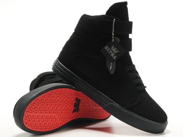 Women Supra TK Society Black Suede Shoes