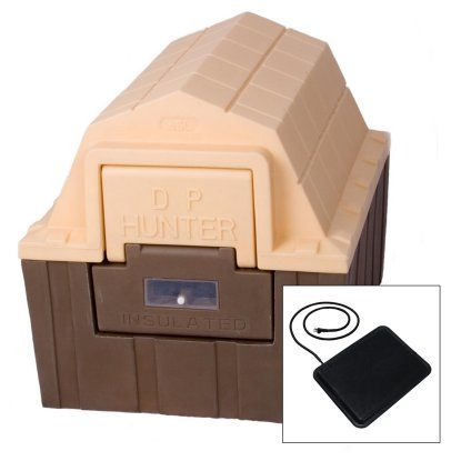 DP Hunter Dog House with Floor Heater